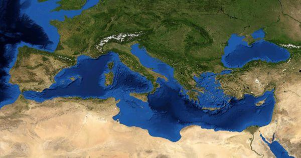 Il Mar Mediterraneo Parte 1