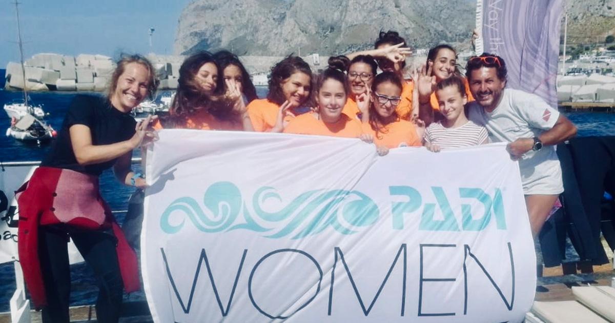 COMUNITA' SUBACQUEA: PADI Women's Dive Day 2019